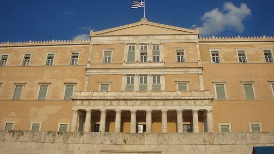 Parlamento Griego, Atenas Grecia..