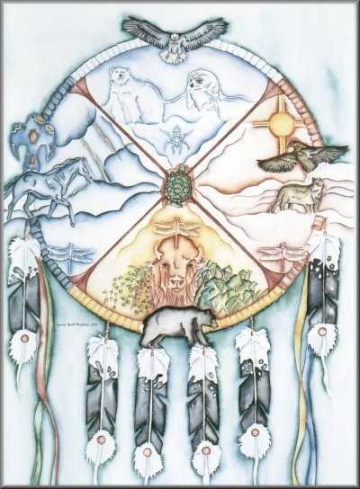 Symboles du chamanisme am rindien les animaux - Les neuf portes du royaume des ombres livre ...