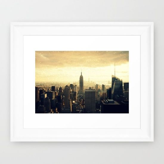Buy New York Framed Art Print by haroulita. Worldwide shipping available at Society6.com. Just one of millions of high quality products available.