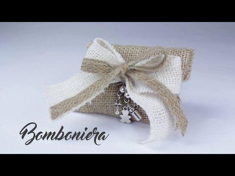 Bomboniere Per Matrimonio Youtube.Tutorial Bomboniera Juta Youtube Bomboniere Matrimonio Fai Da