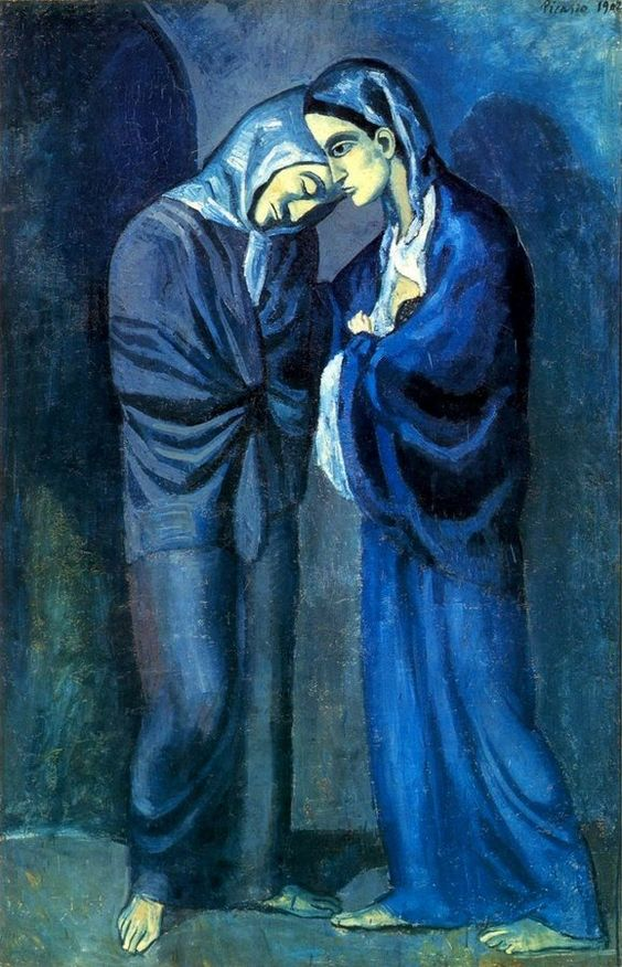 Picasso's blue period.