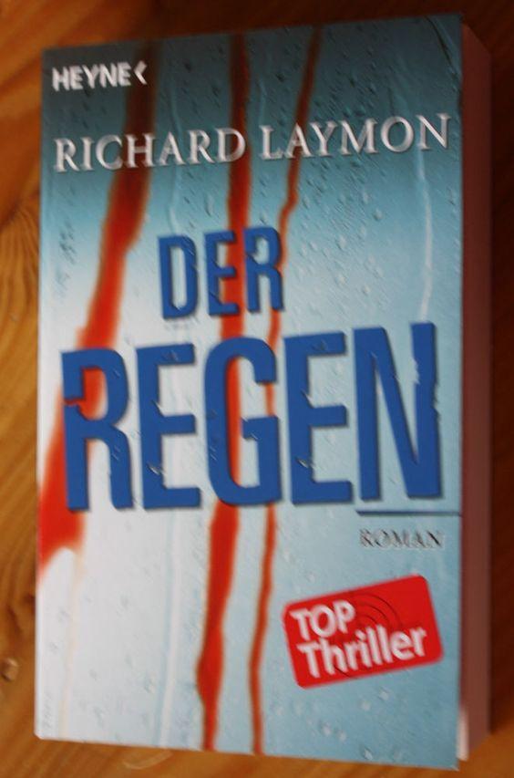 RICHARD LAYMON DER REGEN HEYNE VERLAG TASCHENBUCH THRILLER