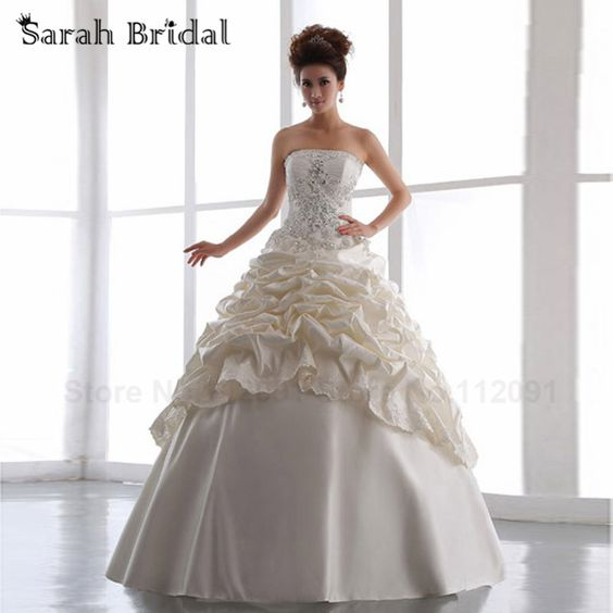 Cheap dresses halloween, Buy Quality dress up tea party directly from China dress lily Suppliers:       Beaded Wedding Gowns With Diamonds and Crystals 2014 New Arrival Sexy Sweetheart Luxurious Mermaid wedding d