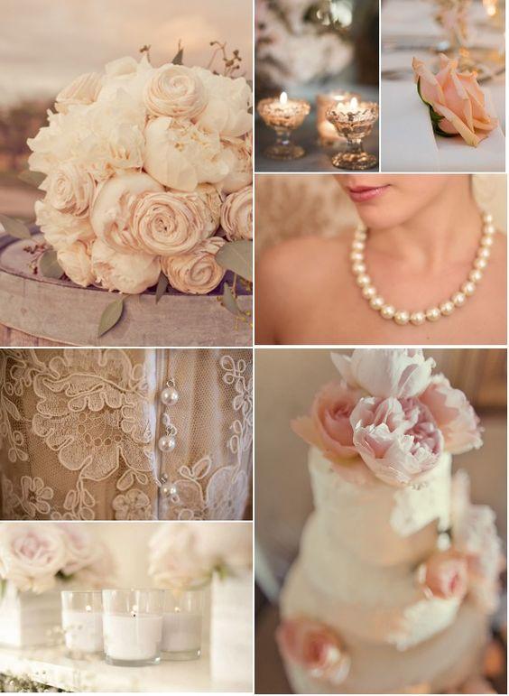 Peonies & Lace- so elegant
