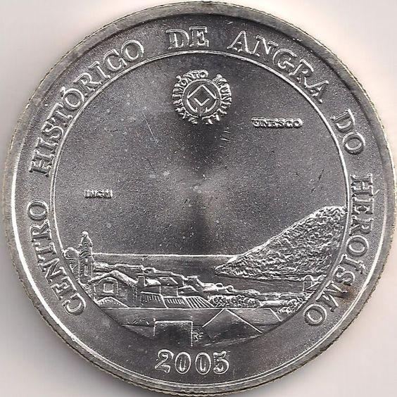 Motivseite: Münze-Europa-Südeuropa-Portugal-Euro-5.00-2005-Angra do Heroísmo
