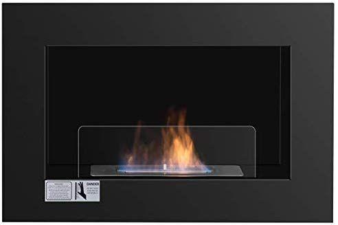 Tangkula 27 5 Wall Mounted Bio Ethanol Fireplace Ventless Hanging Fireplace Burner Tabletop Fireplace Tabletop Fireplaces Hanging Fireplace Ethanol Fireplace