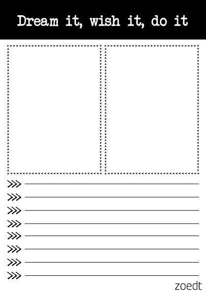 Grafisch zwart/wit A5 notitieblok