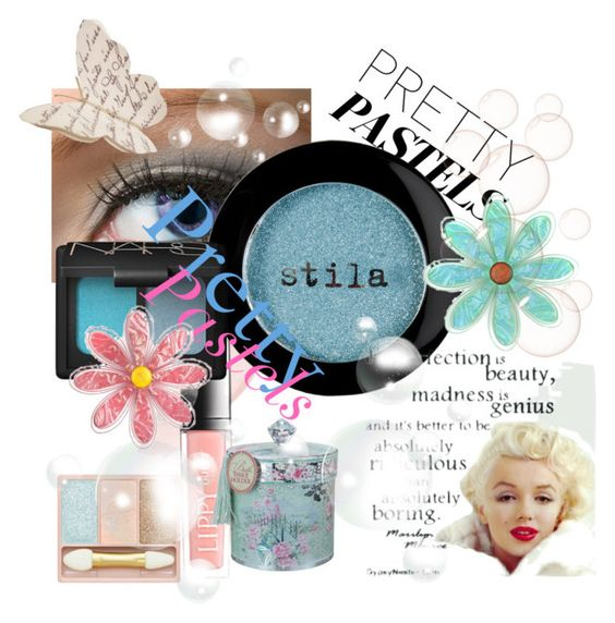 """""""Pretty Pastels Contest"""" by chris1017 ❤ liked on Polyvore featuring beauty, Butter London, Stila, NARS Cosmetics, Paul & Joe and prettypastels"""