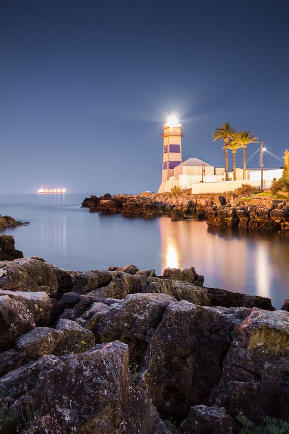 #Cascais #lighthouse #Portugal  Farol de Santa Marta