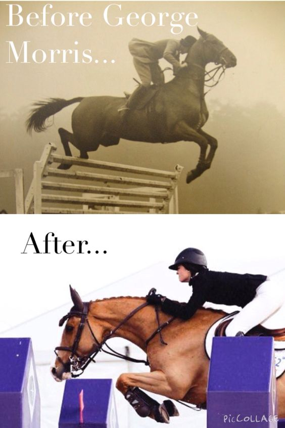 George Morris really changed the world! The founding father of Hunt seat eq.