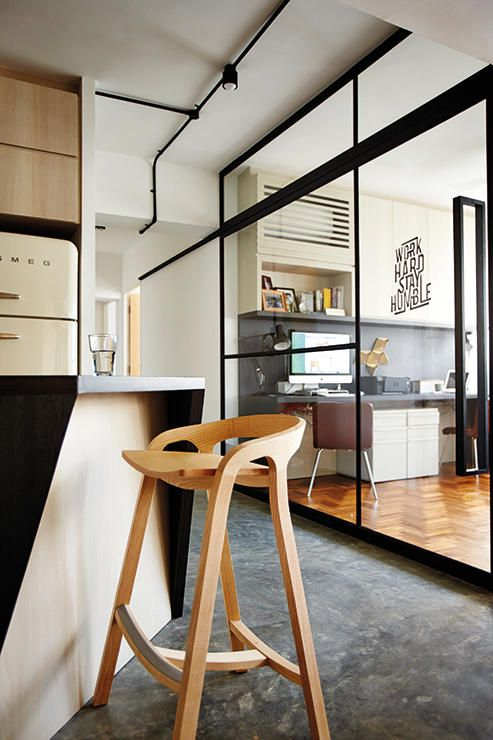 types of interior design - lean concrete, Singapore and ypes of flooring on Pinterest