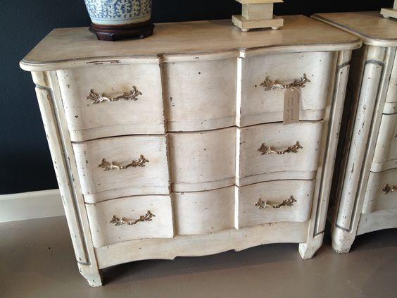 Custom painted chests, Boxwood Interiors, Houston, Texas | www.boxwoodhouston.com
