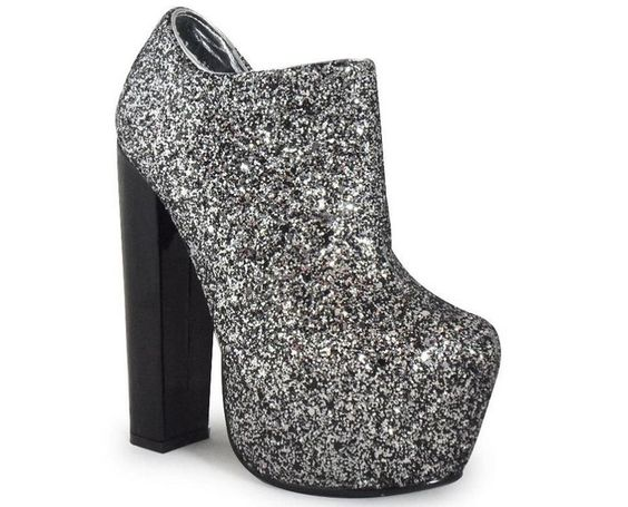 Glitter platform | Shoes | Pinterest | Platforms, Glitter and Shoes