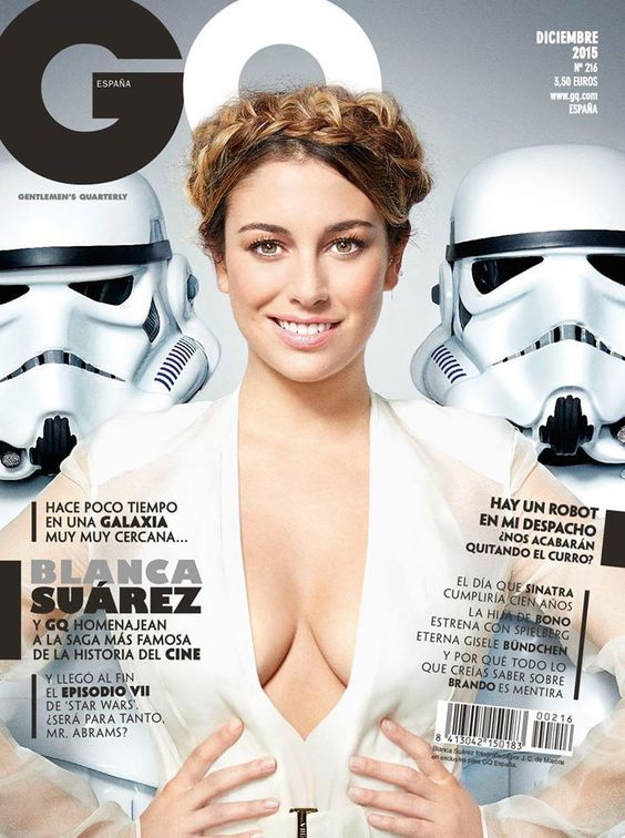 Blanca Suarez en couverture du magazine GQ Spain - Décembre 2015 // #cover #blancasuarez #gqmagazine #portrait #photography #sexy #woman #photoshoot #hot #model #december