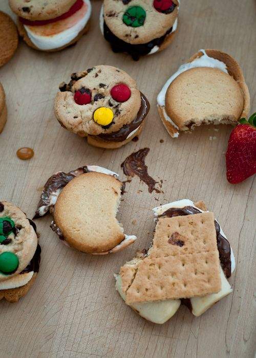 S'mores! (click for ideas and how-to)
