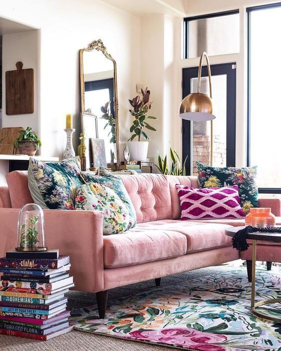 32 Photos Of Area Rugs In Interior That Make You Get One Lavorist Boho Living Room Decor Maximalist Living Room Living Room Decor