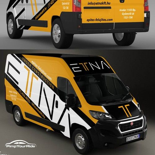Create A Creative Van Wrap For A Modern Architecture And Construction Company Car Truck Or Van Wrap Contest Design Ca Van Wrap Fiat Doblo Construction Company