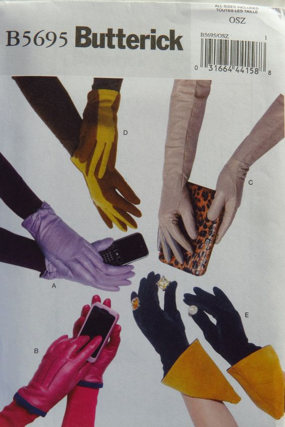 Butterick 5695 Gloves