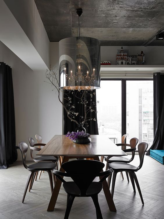 An Eclectic Apartment Renovation in Taipei, Taiwan by Ganna Design