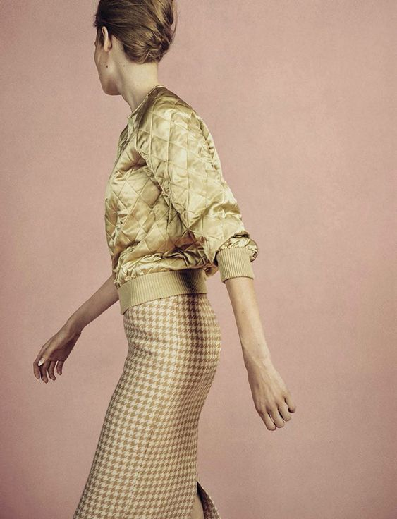 Alexandra Elizabeth Ljadov for Vogue Italia August 2015: