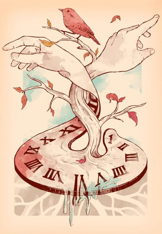 Hand surreal time by Norman Duenas