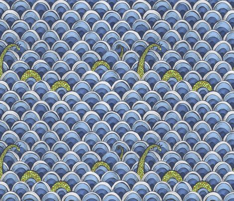 Shy Ness fabric by ceanirminger on Spoonflower