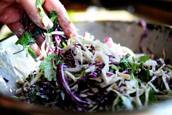 cilantro jalapeno slaw- Pioneer womans read recipe commentary hilarious !!!!
