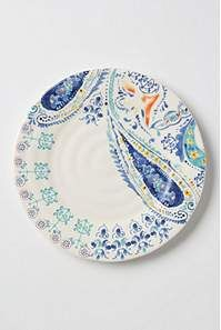 Swirled Symmetry Dinner Plate