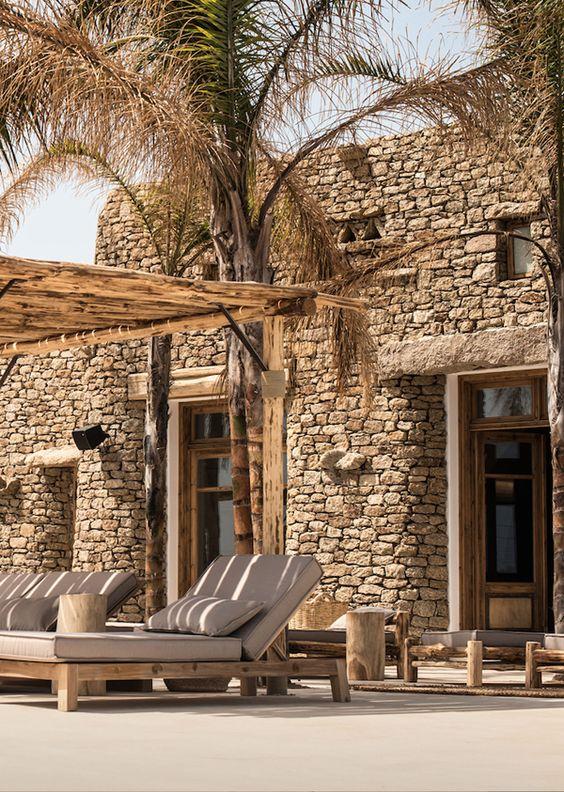 Stylish Scorpius Beach Club On Mykonos Greece The Style Files Beach Homes Pools