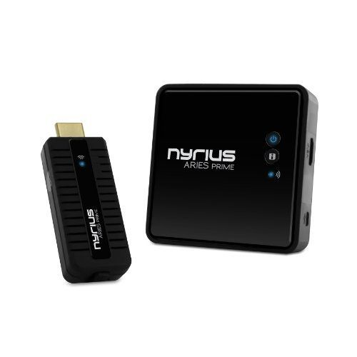 Nyrius ARIES Prime Digital Wireless HDMI Transmitter & Receiver System for  HD 1080p 3D Video Streaming, Laptops, PC, Cablebox, Satell… | Hdmi,  Transmitter, Wireless