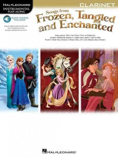 Songs from Frozen, Tangled and Enchanted: Clarinet