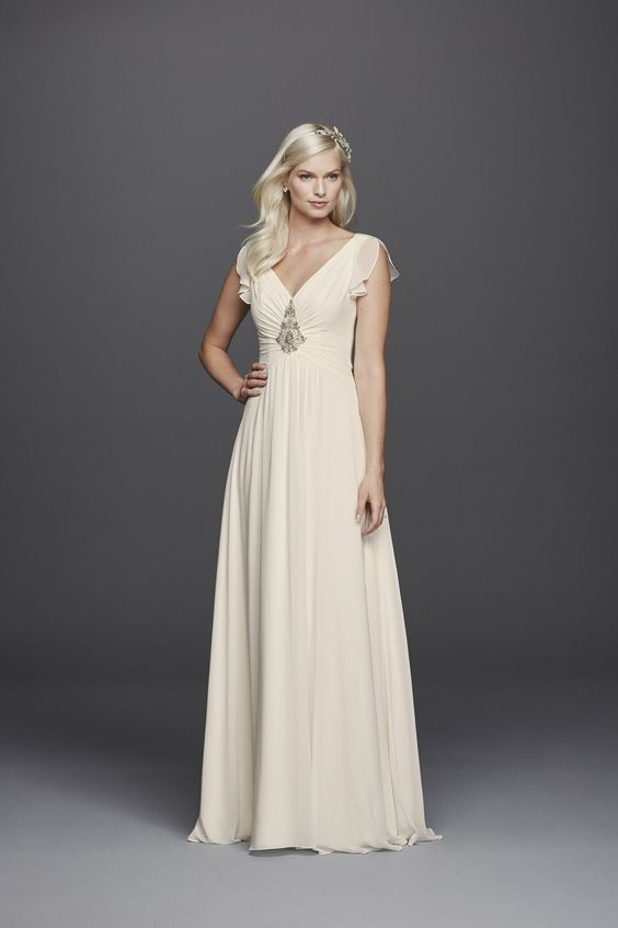 Jenny Packham's Latest Collab With David's Bridal Is What Wedding Dress Dreams Are Made Of via Brit + Co