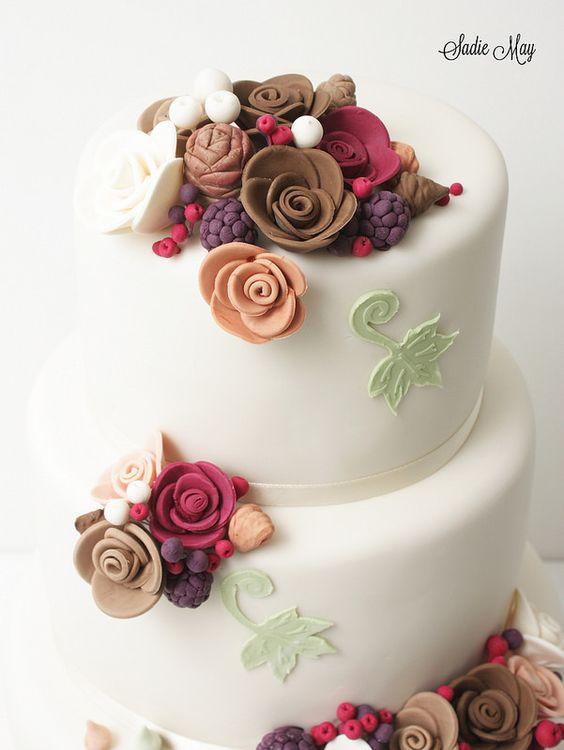 Autumn Wedding Sadie May Cakes