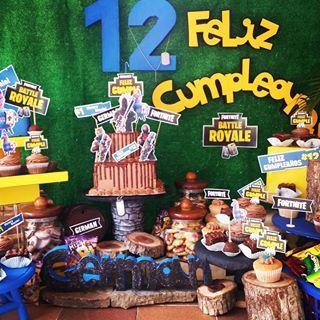 Cumpleaños Fortnite Cumpleañosfortnite Fortnite Cumple12 To Cumpleaños Infantiles Decoracion Planificación De Fiesta Fiesta Cumpleaños