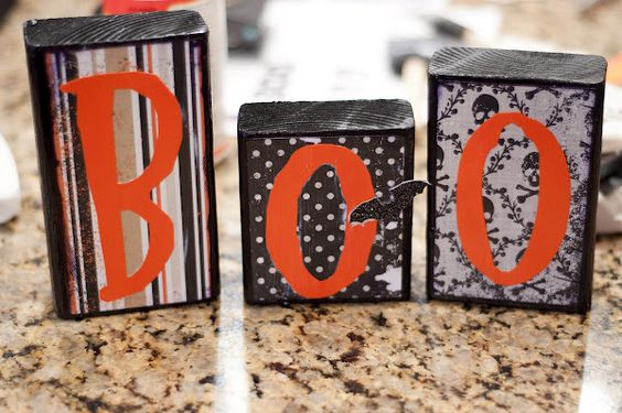 A Few of My Favorite Things: Simple Halloween Craft