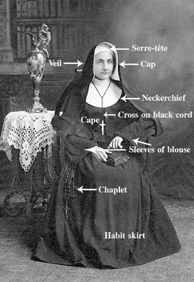 worn by the Sisters of Providence