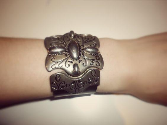 Bracelet à partir d'une ceinture