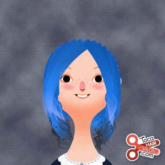 From the app toca hair salon 2 toca boca pinterest for Toca boca hair salon