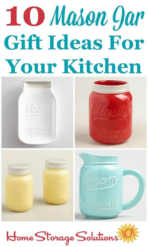 10 Mason Jar Gift Ideas For Your Kitchen Beautiful Useful