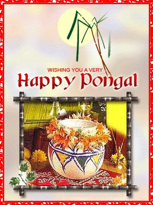 Animated Happy Pongal Gif Images