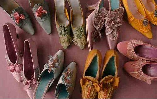 Souliers de Marie Antoinette