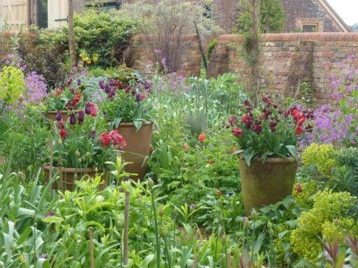 garden at perch hill - Sarah Raven
