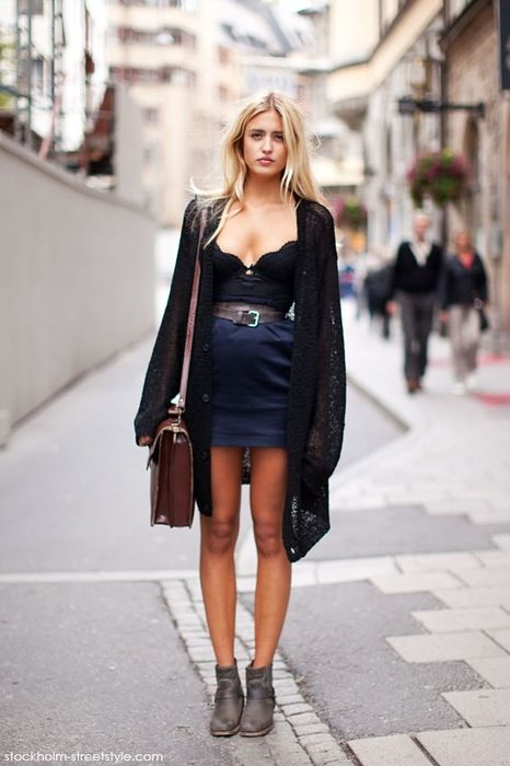 street style, flirty and fun. a night look dolled up for day allowing for a quick transition and constant saucy appeal