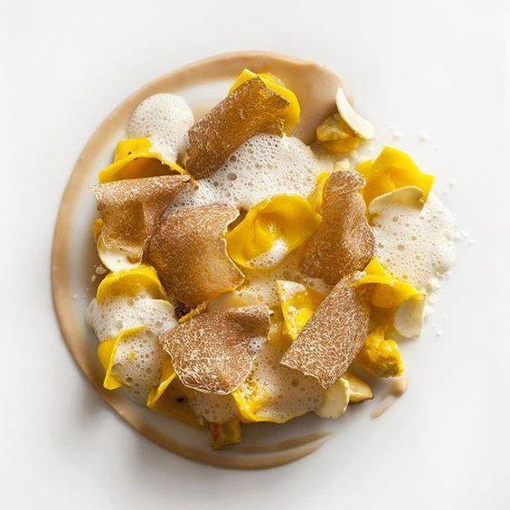 Tortellini et truffe blanche