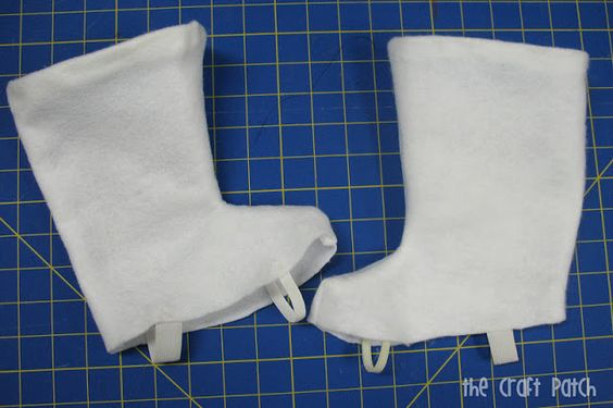 cosplay how to make flared boots