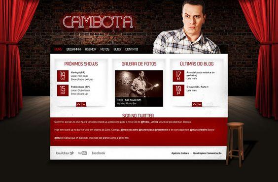 Fabiano Cambota é músico, vocalista da banda Pedra Letícia e comediante stand-up.
