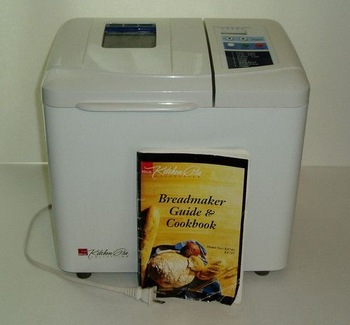 Superbe Regal Kitchen Pro Collection BREADMAKER Bread Machine Maker Model K6743 |  ASK GRAND MASTER CHARLES 8TH DAN | Pinterest