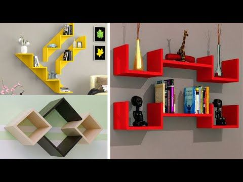 Modern Diy Wall Shelves Design Ideas Home Interior Wall Decoration Storage 2020 Trends Under 3 Youtube Wall Shelves Design Wall Shelves Shelf Design