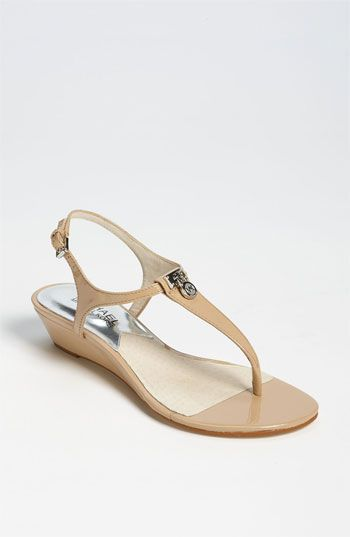 MICHAEL Michael Kors 'Hamilton' Sandal available at Nordstrom. nude ceremony sandal