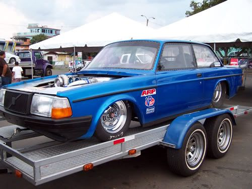 Volvo B Sedan Vintage Race Car Das Auto Transport
